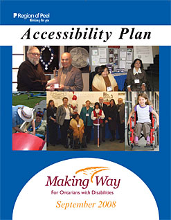 Accessibility Planning Program 2008 Cover