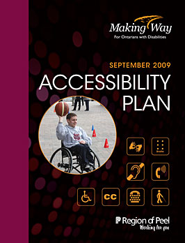 Accessibility Planning Program 2009 Cover