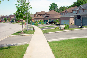 Side-walk Residential in Brampton