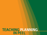 Teaching Planning in Peel